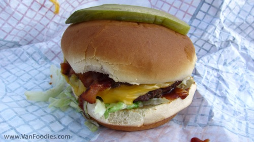 Chipotle BBQ Bacon Burger