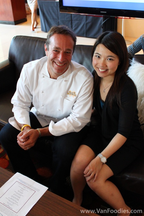 Joyce and Chef Bruce Bromberg
