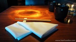 Hapa Umi table setting