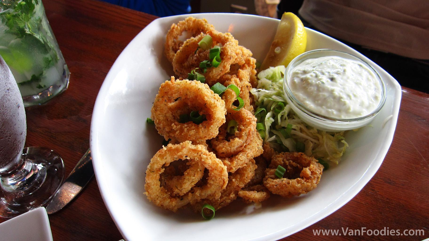 how to cook fried calamari