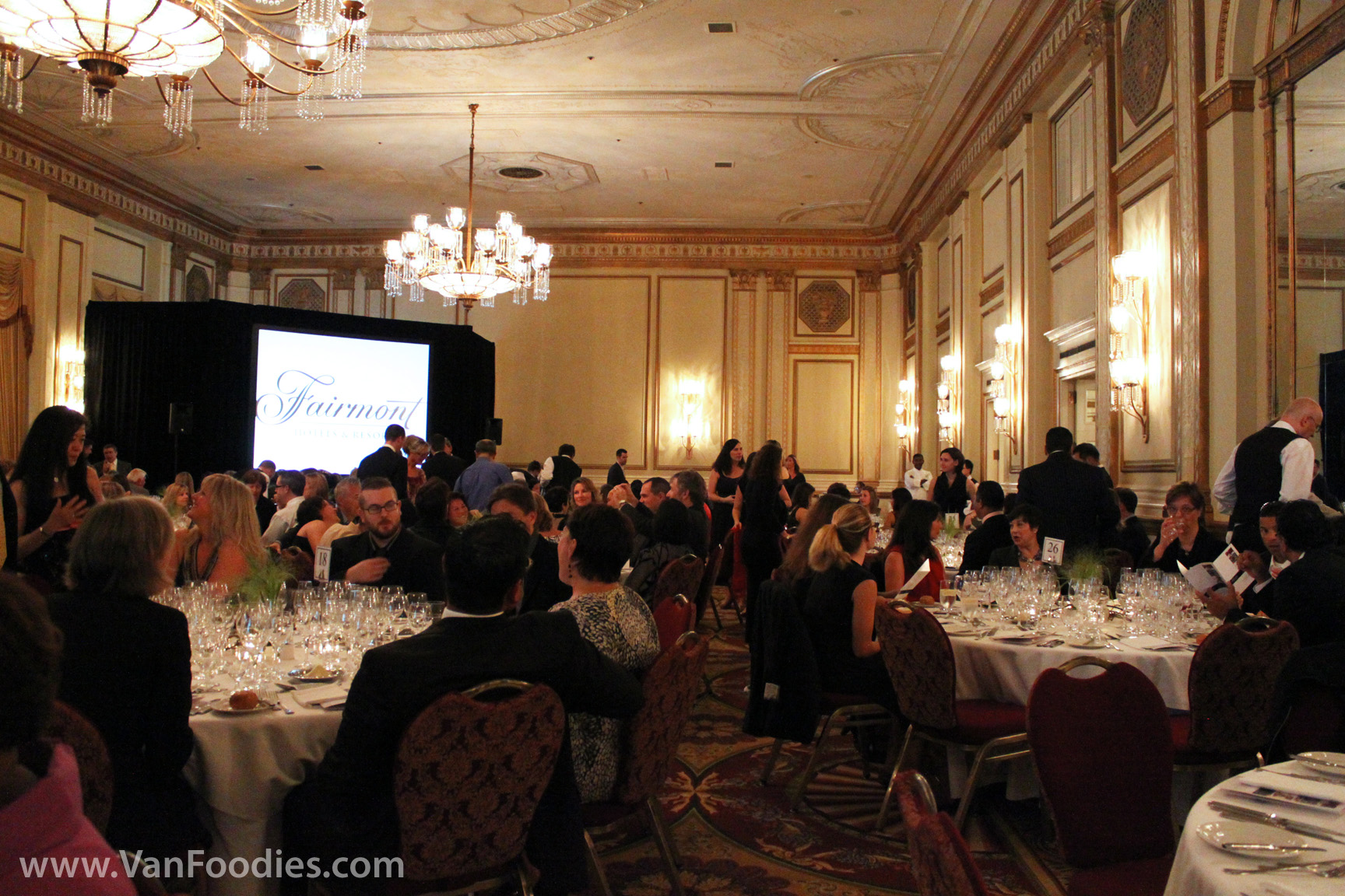 Fairmont Hotels Culinary Apprentice Dinner Vanfoodies Com