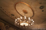 Chandeliers from the ceiling
