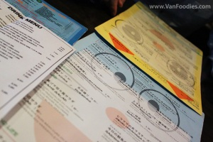 Cute Doraemon Menu