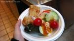 Self-served salad