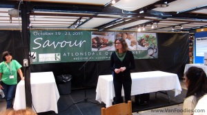 Savour Market Taste Tour hosted by Kristen at Vitamin K Nutrition Consulting