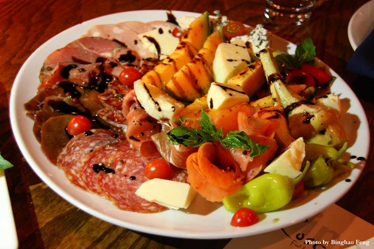 Cosca restaurant food for the borgata for Chow chow restaurante