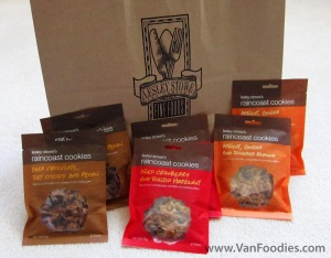 Lesley Stowe's Raincoast Cookies Collection