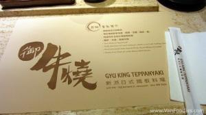 Gyu King Teppanyaki