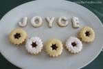 """The """"Joyce"""" cookies"""