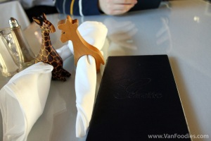 Giraffe-shaped Napkin Holders