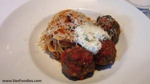 Spaghetti & Spicy Kobe Meatballs