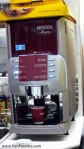 Nescafe Machine pumping out a cup of Mocha