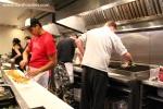 Staff hard at work preparing food 2