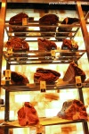 Aged meat on display