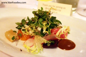 Pickled Beet Panzanella Salad