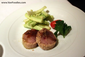 Soya and Black Pepper Marinated Albacore Tuna