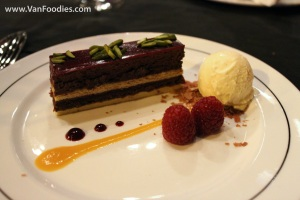 Chocolate Raspberry Gateaux