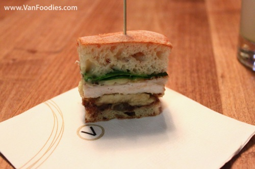 Granny Smith Apple, Brie & Chicken Sandwich