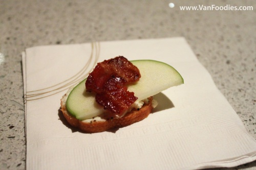 Granny Smith Apple with Candied Bacon