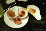 Canapes to start