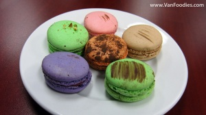 Macarons by Leonidas