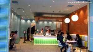 Pinkberry with small amount of seats