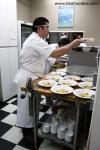 Chef Alex Chen in action