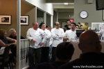 Chef Alex Chen and other Vancouver chefs who helped put together a wonderfuldinner