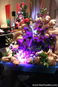 Display by the Chinese Canadian Chef Association