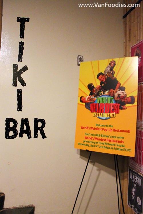 The World's Weirdest Pop-Up Restaurant at Waldorf Hotel's Tiki Bar