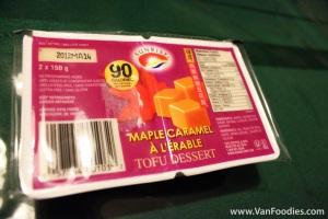 Product Review: Sunrise Soya Maple Caramel Tofu Dessert