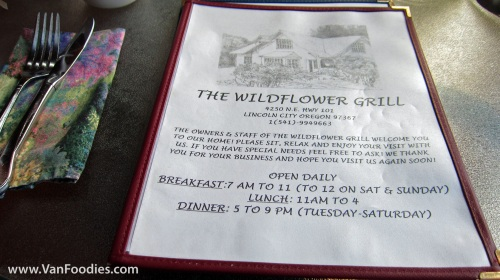 Brunch at the Wildflower Grill
