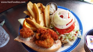Wildflower Oyster Po'Boy