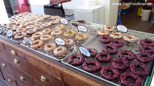 Fresh donuts