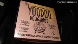 Voodoo Doughnut to go