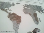 """""""Map"""" on the wall"""