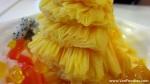 Fabric-like shaved ice