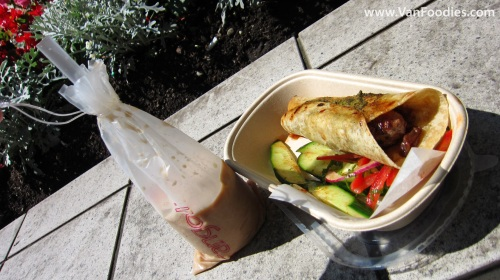Lamb Kebabs and Iced Chai