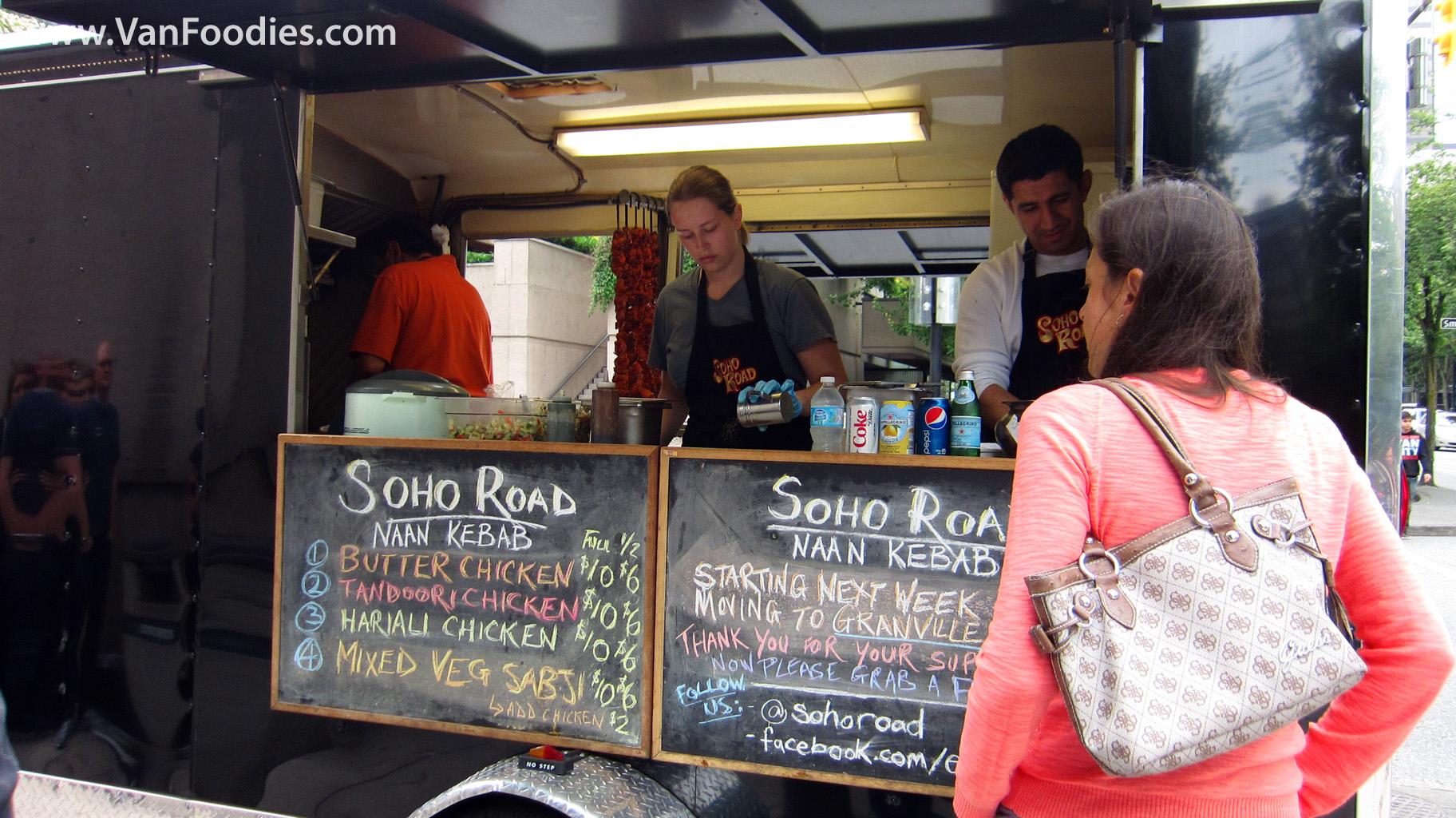 Soho Road Naan Kebab