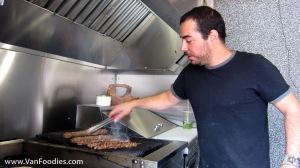 Cooking of kebabs