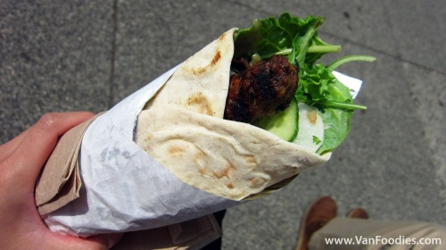 Peace River Lamb Kebab on Taftoon