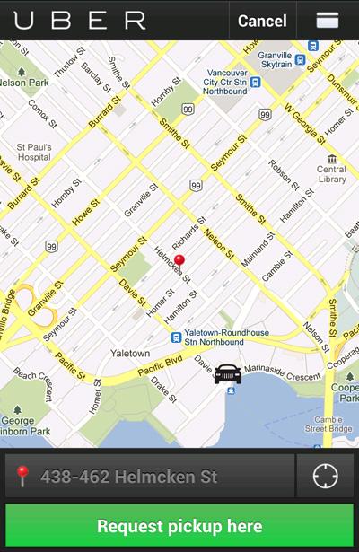 Uber Vancouver