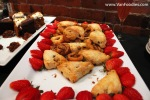 Mini cinnamon buns & Cranberry orange white chocolate scones