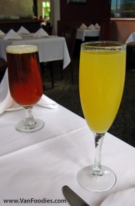 Red Truck Ale & Mimosa