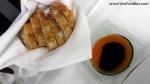 Bread with Lobster Oil & Balsamic Vinegar