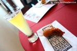 Gruyere Fritter with Wheat Ale