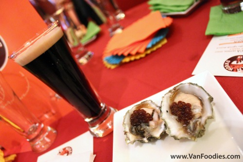 Oysters and Pearls with Heroica Oatmeal Stout