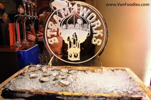 Fresh Oyster Display
