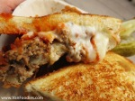 Check out the gooey cheese and tasty meatloaf