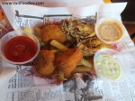 Cod Nuggets, Deep Fried Oysters & Cajun Fries